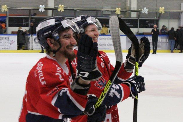 Hockey sur Glace (D1) :Caen reprend des couleurs contre Nantes