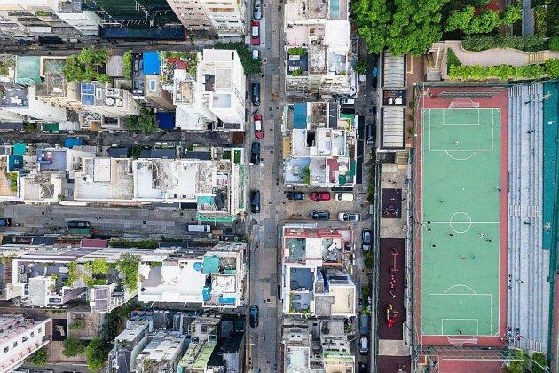 Au-dessus de la canopée de béton: Hong Kong vu du ciel