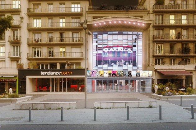 Découvrez la future façade du cinéma l'Omnia au centre de Rouen