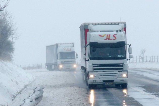 Vigilance orange: restrictions de la circulation pour les poids lourds