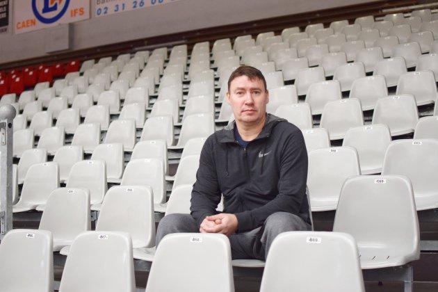 """Fabrice Courcier, nouveau coach du Caen BC, veut """"vite retrouver une dynamique"""""""