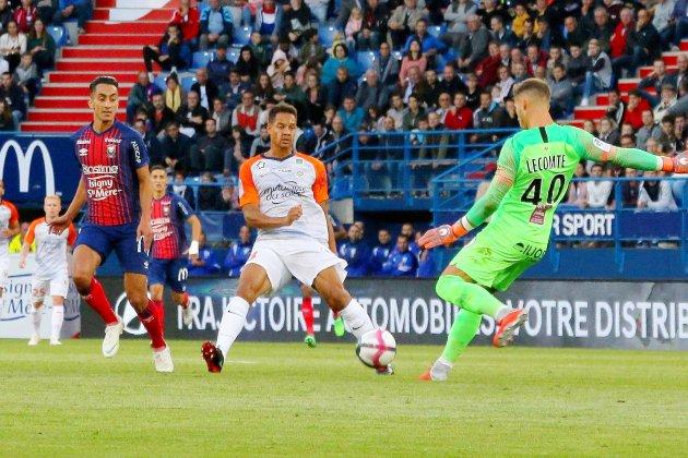 Football (Ligue 1) :Caen ne tient qu'une mi-temps à Montpellier...