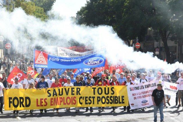 Ford-Blanquefort: rejet du plan social de fermeture, répit pour un projet de rachat