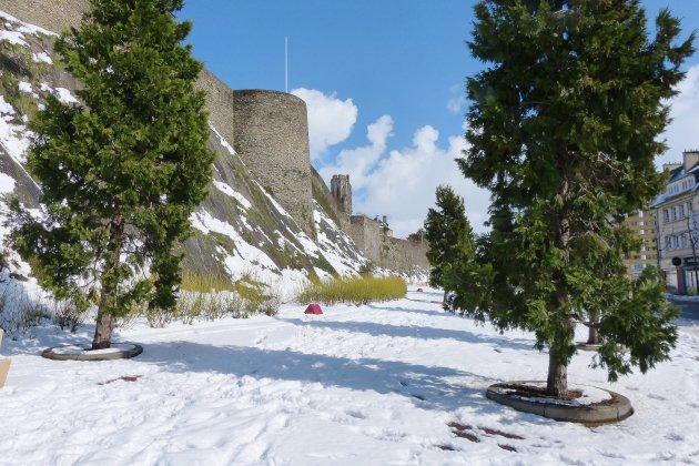 De 2 à 5 cm de neige du centre au sud-Manche