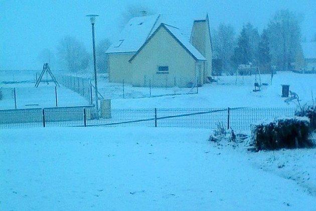 Tempête Gabriel : vos photos de la neige en Normandie