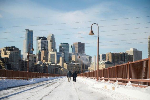 Une vague de froid polaire frappe le nord des Etats-Unis