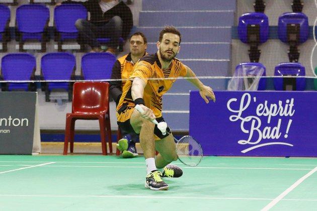 Badminton: à Rouen, Julien Maio vise un troisième titre national
