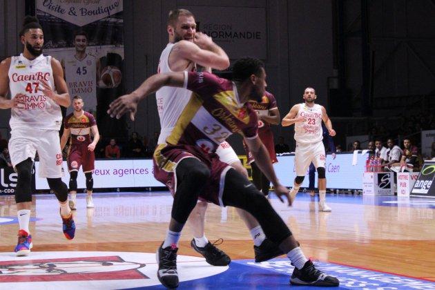 Basket (Pro B) : Caen vaillant, mais battu par Orléans