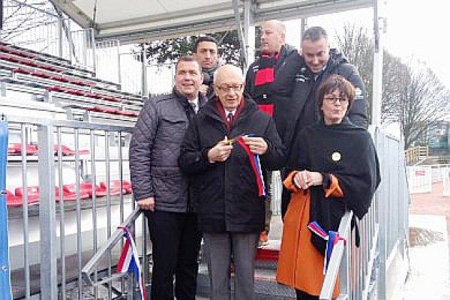 Rouen: les aménagements du stade Jean Mermoz dévoilés