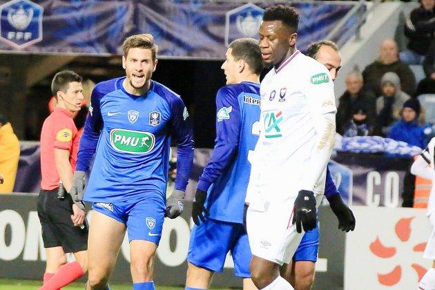 Football (Coupe de France) : Caen vient très laborieusement à bout de Bastia