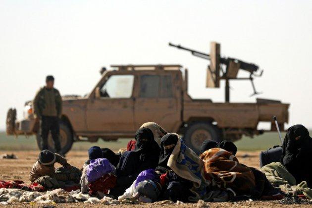 """L'EI contrôle désormais moins de 1% de son """"califat"""", selon la coalition internationale"""