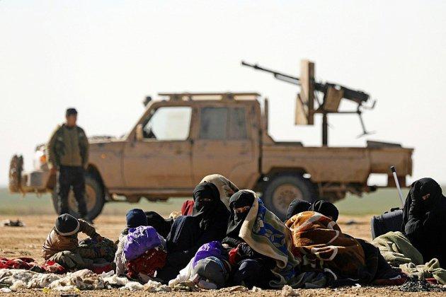 """L'EI contrôle désormais en Syrie moins de 1% de son """"califat"""""""