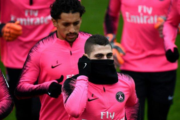 PSG-Bordeaux: Verratti titulaire, pas Mbappé