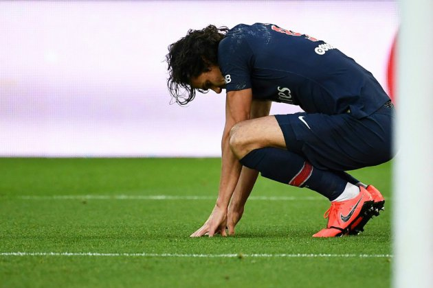 """Paris SG: Cavani """"forfait"""" contre Manchester"""