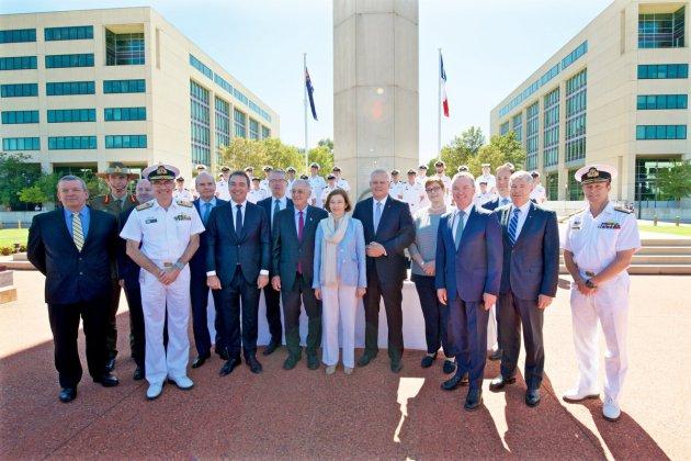 L'Australie commande douze sous-marins à Naval Group: le contrat signé!