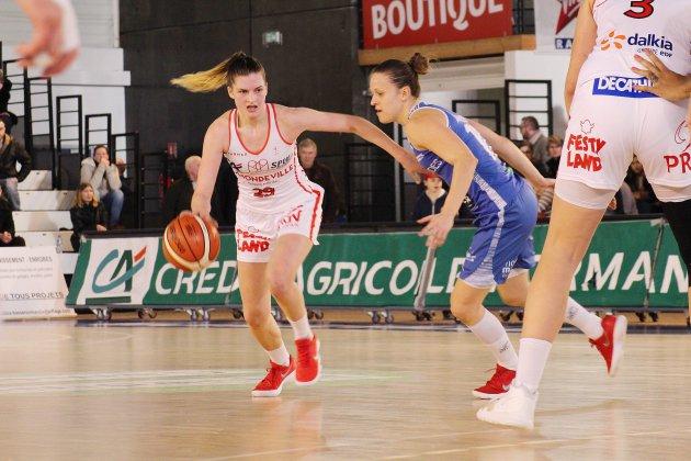 Basket (LFB): Mondeville craque dans le dernier quart contre Tarbes