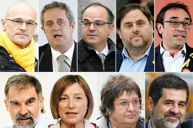 Espagne: début du procès historique des dirigeants indépendantistes catalans