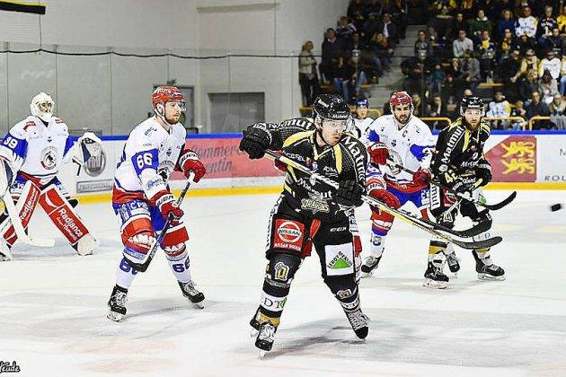 Hockey sur glace: Rouen s'assure la première place face à Lyon