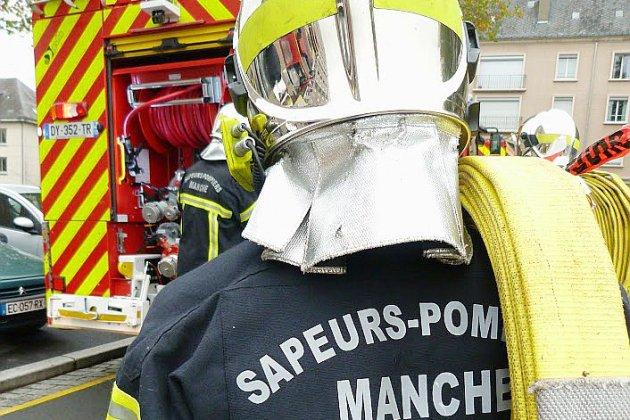 Incendie d'immeuble dans la Manche: 17 personnes évacuées, deux blessés