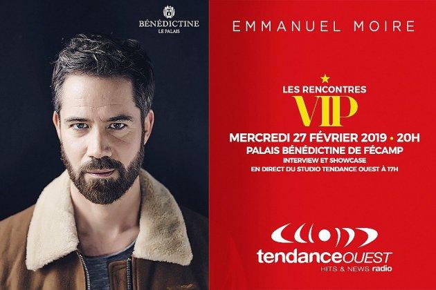 Rencontres VIP: Emmanuel Moire en showcase à Fécamp