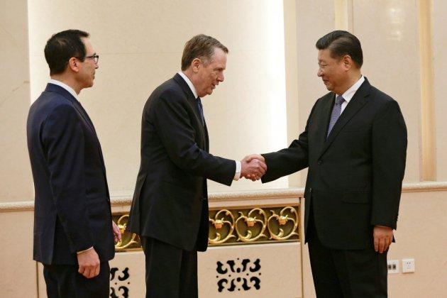 """Guerre commerciale Chine-Etats-Unis: des questions """"très difficiles"""" subsistent"""