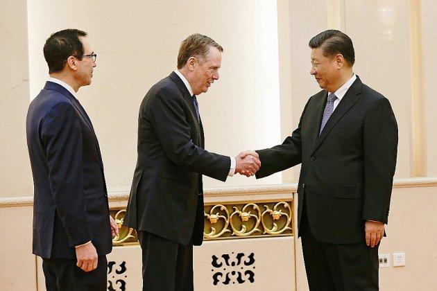 """Guerre commerciale Chine-Etats-Unis: encore des sujets """"très difficiles"""" à régler"""