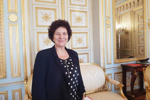 La ministre de l'Enseignement supérieur en déplacement à Caen