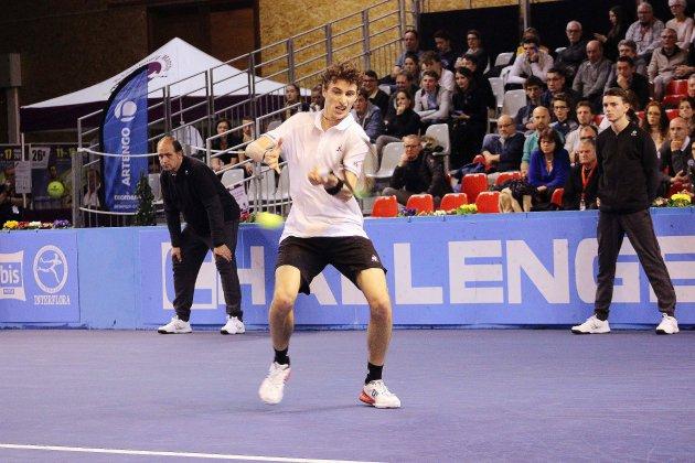 Tennis: victoire d'Ugo Humbert au Challenger de Cherbourg