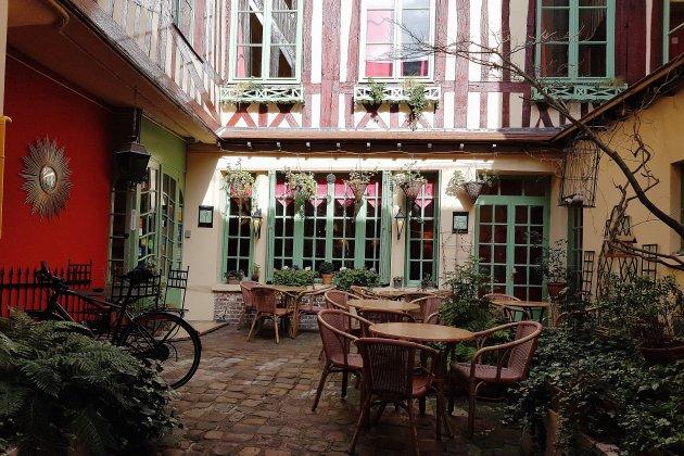 Bonne table à Rouen: le Vieux carré, rue Ganterie