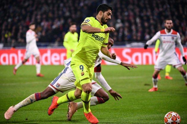Ligue des champions: Suarez frileux en voyage, le Barça patraque