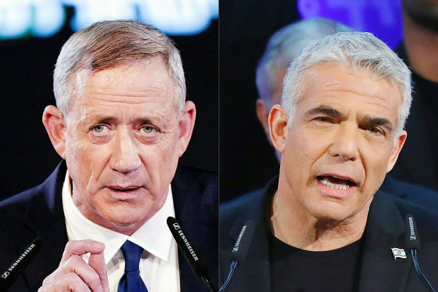 Législatives en Israël: les principaux rivaux de Netanyahu font alliance
