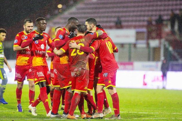 Football: derby normand entre Quevilly Rouen Métropole et l'US Avranches