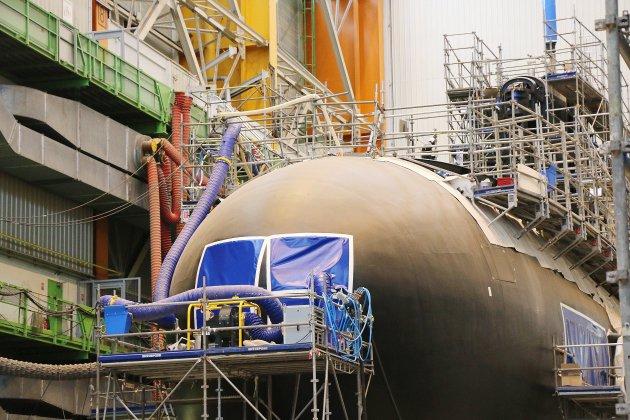 Chute d'un élément radioactif: le chantier Laubeuf de Naval Group évacué