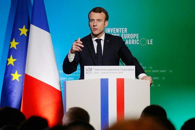 """Emmanuel Macron à """"réinventer"""" la  PAC au salon de l'agriculture"""