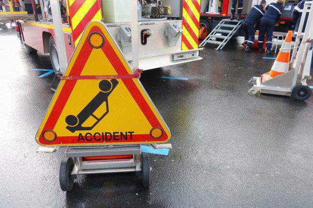 Manche: un accident de la route fait deux blessés dont un grave