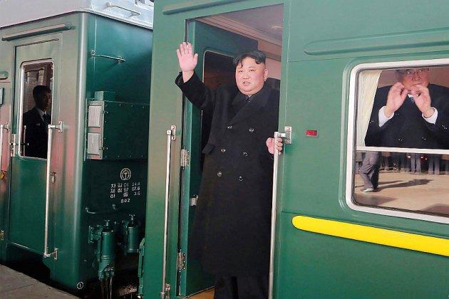 Kim Jong Un en route vers Hanoï pour son sommet avec Donald Trump