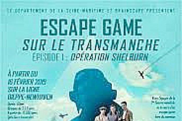 Venez vivre en première mondiale un escape game sur le Transmanche !