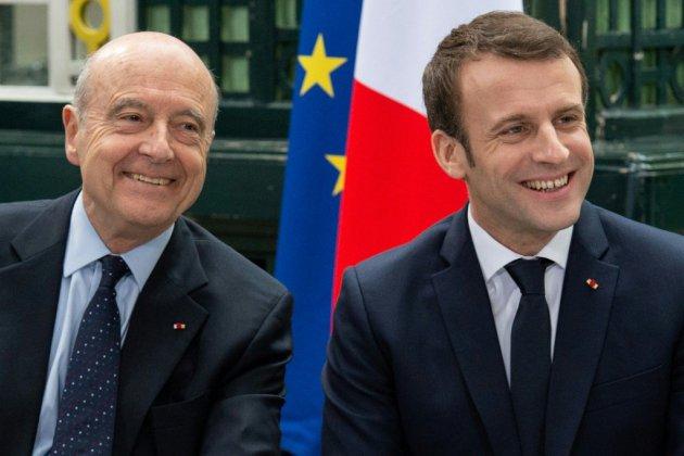 """Macron rencontre Juppé qui salue la """"capacité d'écoute"""" du président"""