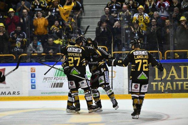 Hockey sur glace :Rouen étrille Chamonix en ouverture des play-offs
