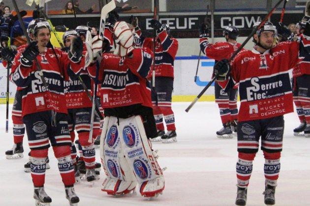 Hockey sur glace :Les Drakkars de Caen décrochent les play-offs !