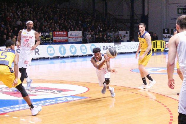 Basket: Caen passe à côtécontre Évreux