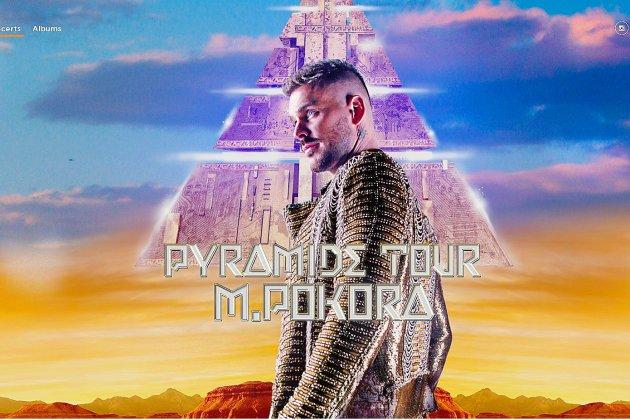M.Pokora de retour en avril 2019 avec Pyramide et une tournée dans toute la France
