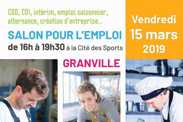 Le salon de l'emploi de Granville vous ouvre ses portes vendredi 15 mars