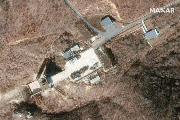 """La Corée du Nord a reconstruit un site de fusées, au risque de """"décevoir"""" Trump"""