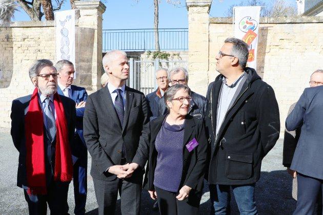 """Un Frac """"splendide"""" selon le Ministre de la culture en visite à Caen"""