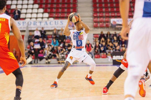 Basket: le Rouen Métropole Basket veut continuer sa série face à Poitiers