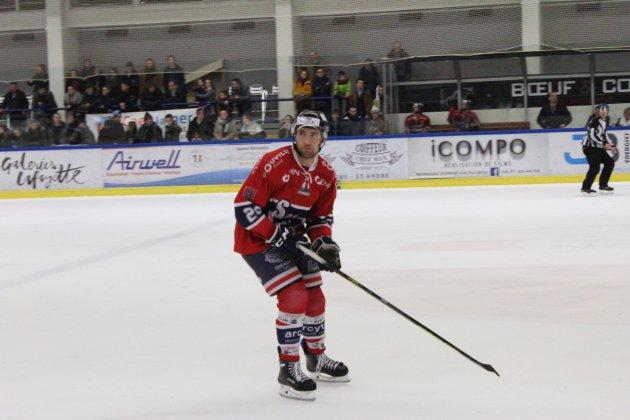 Hockey sur Glace (Play-offs) : Caen craque en fin de match à Neuilly