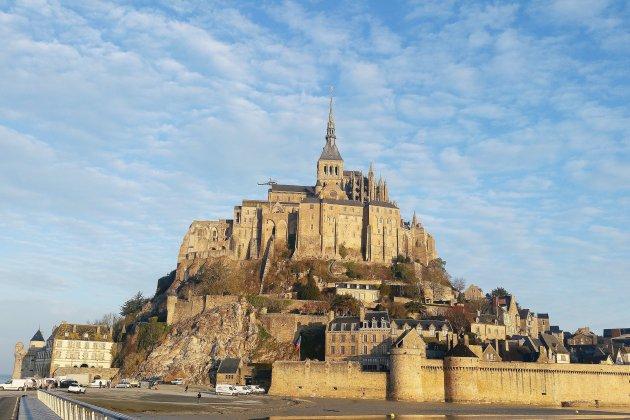 Maryse doyenne des Alpes-Maritimes au Mont Saint-Michel les 19 et 20 mars
