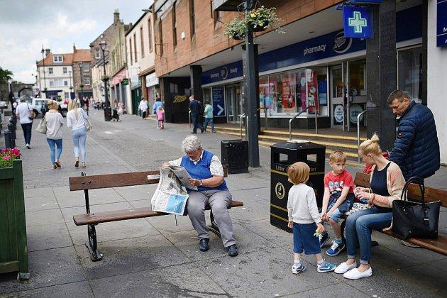 """Dans l'extrême nord de l'Angleterre, espoirs d'un """"no deal"""" sur le Brexit"""