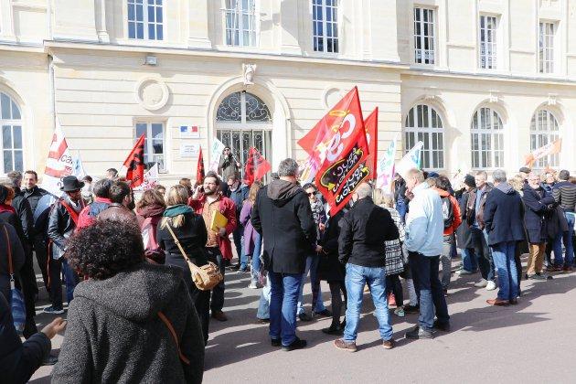 Caen : environ 150 enseignants à la rencontre du rectorat